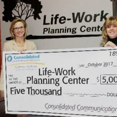 Life-Work Planning Center Receives Grant