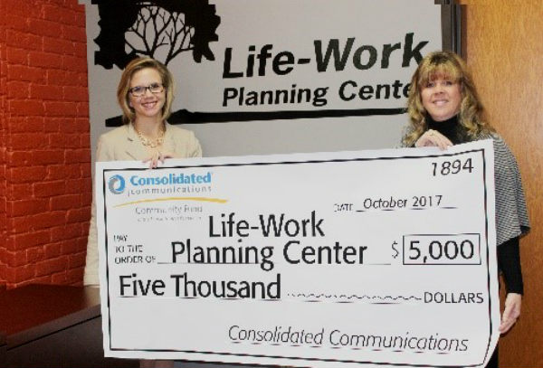Consolidated Communications Grant to LWPC