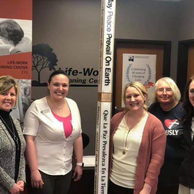 Life-Work Planning Center Recipient of 2019 Peace Pole